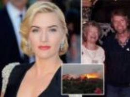Richard Branson's mother Eve says Kate Winslet didn't save her from Necker Island fire